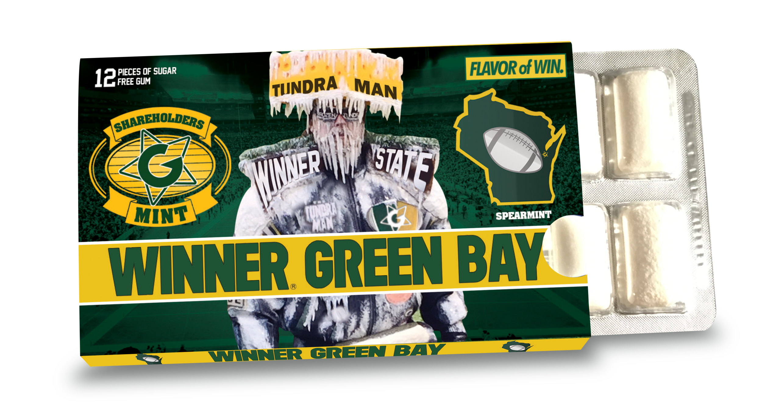 Winner Green Bay Gum
