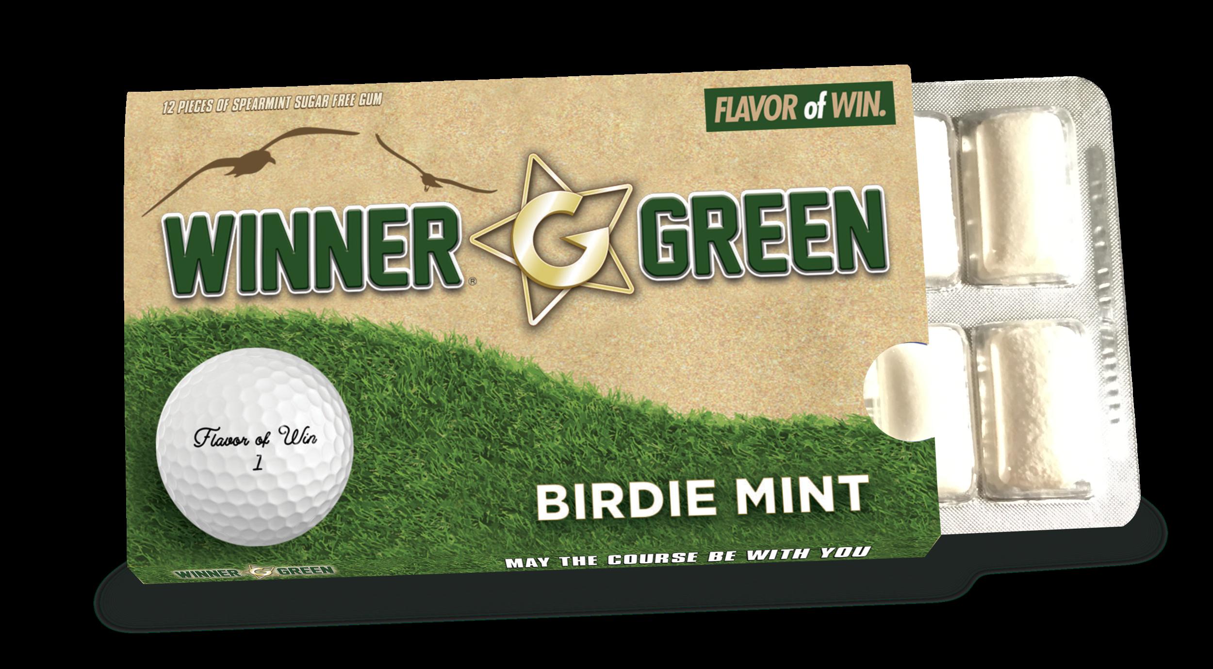 Winner Green Birdie Mint
