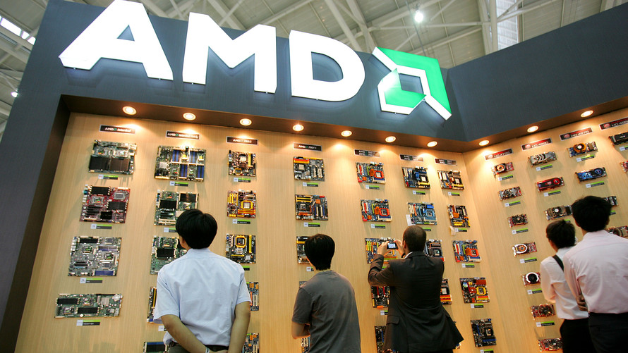 Bloomberg News/Landov  AMD sales jumped nearly 25% in 2017, when the company produced profit for the first time since 2011.