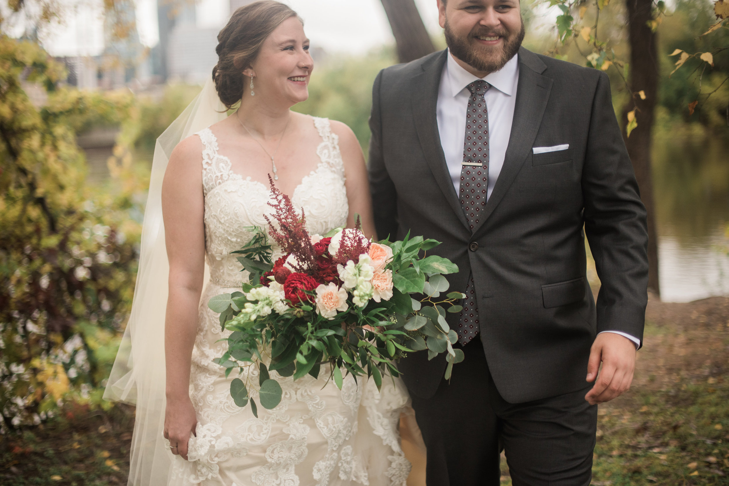 Minneapolis Fall Wedding