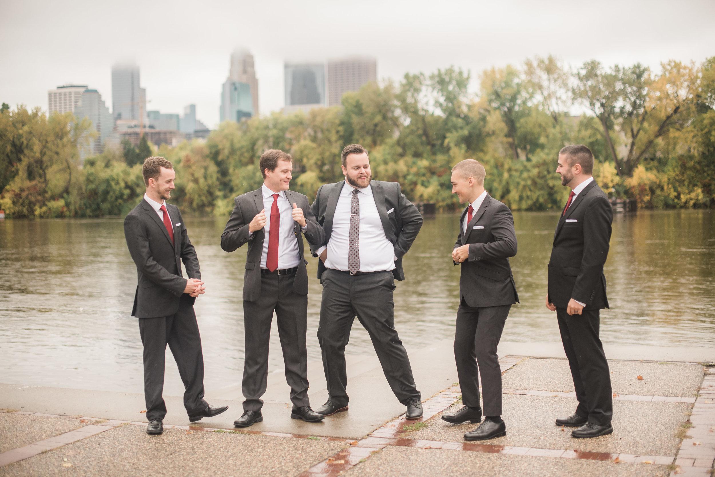 Minneapolis wedding party