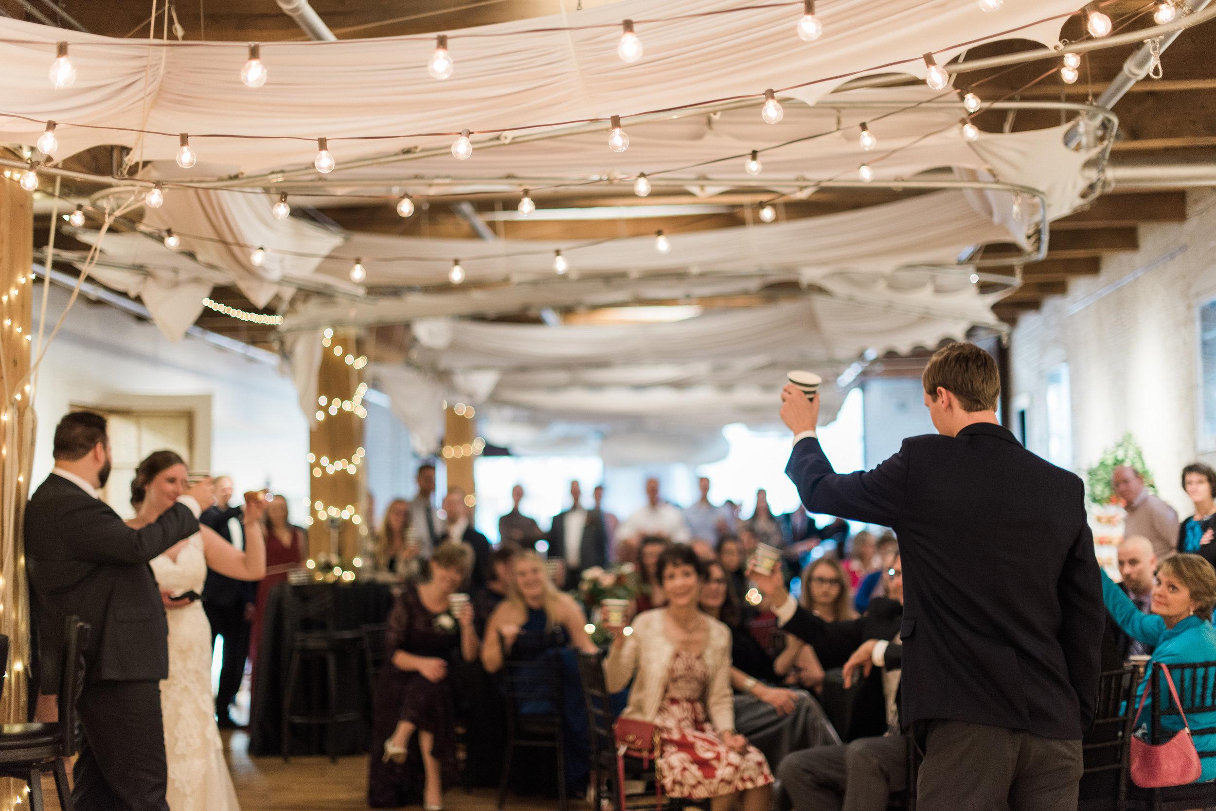 Industrial Minneapolis wedding venue