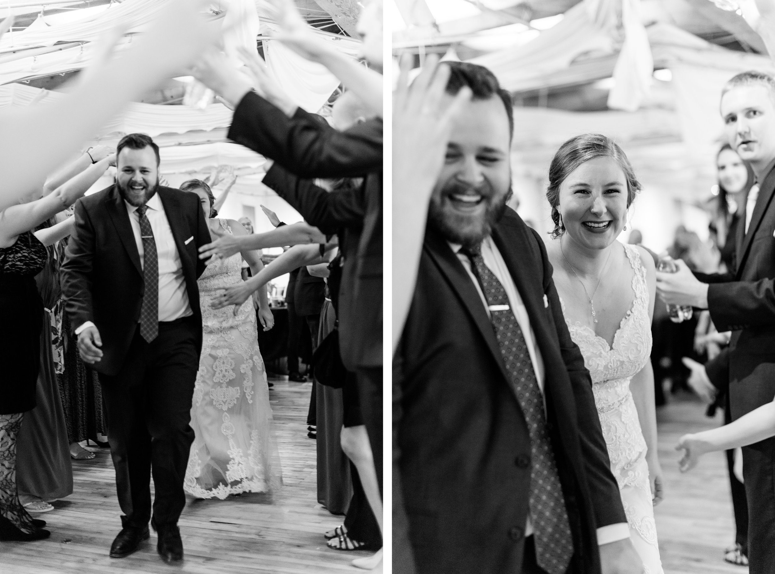 Minneapolis wedding send off