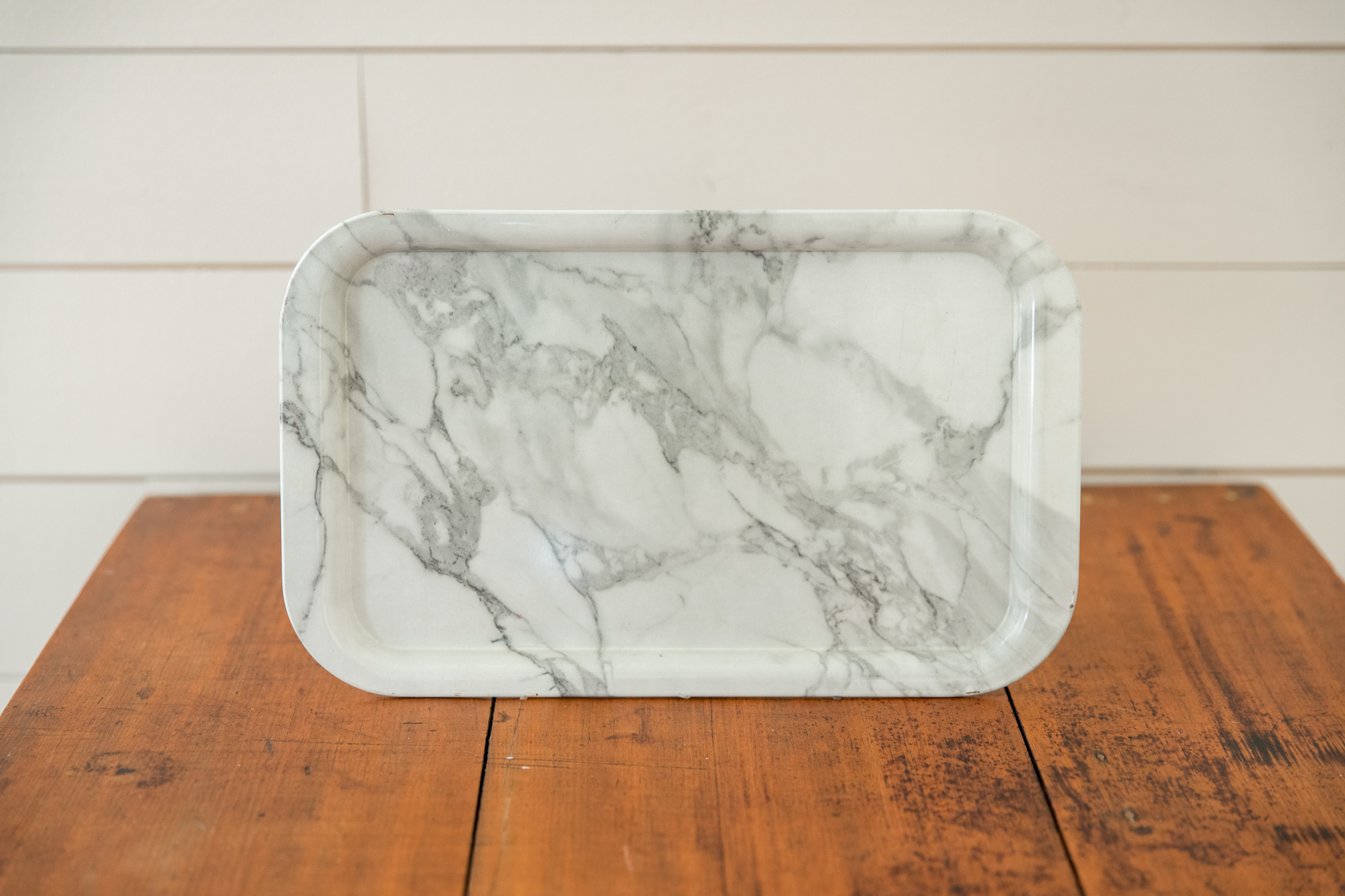Marbled Metal Tray