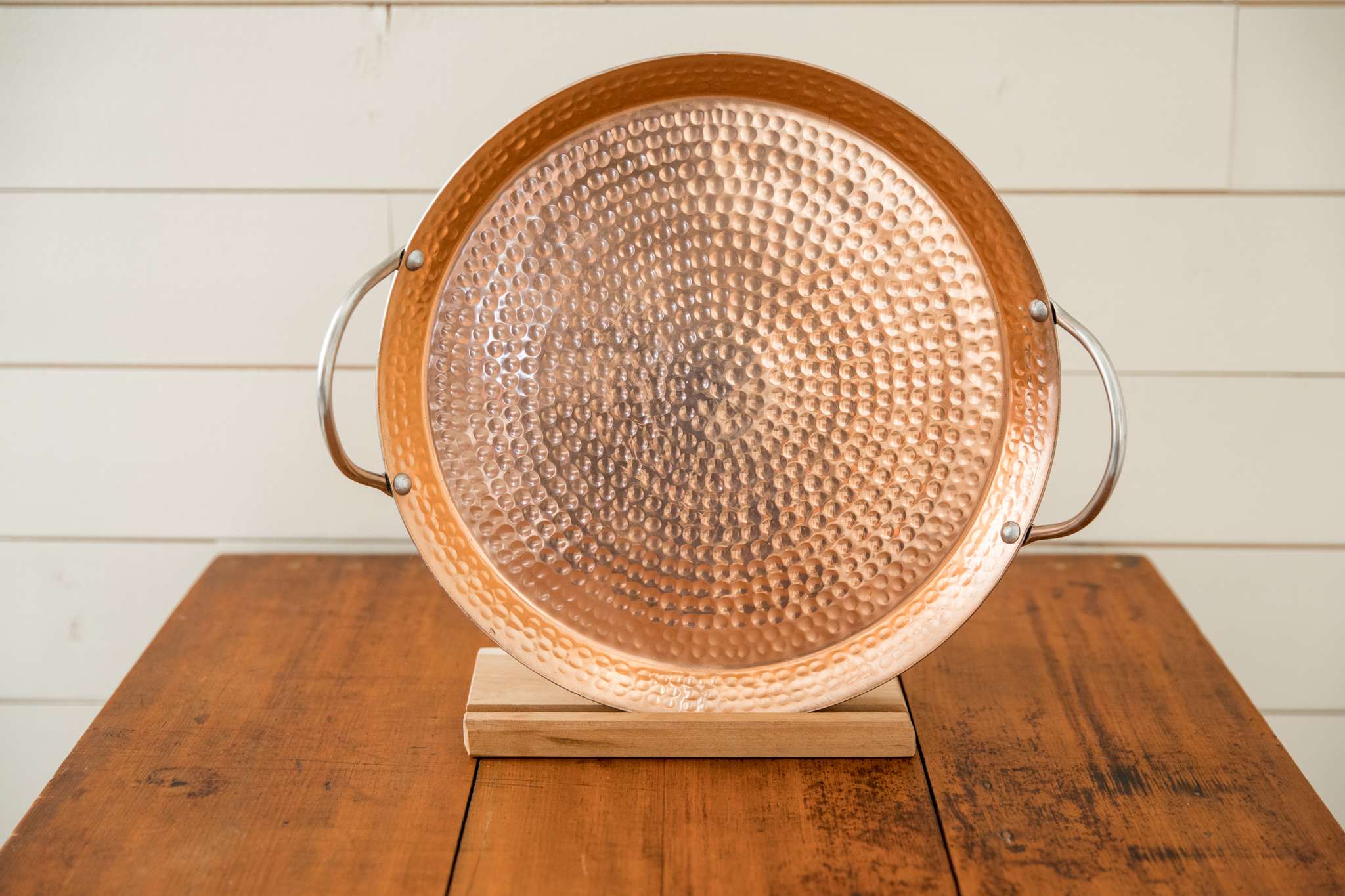 Copper Tray with Handles