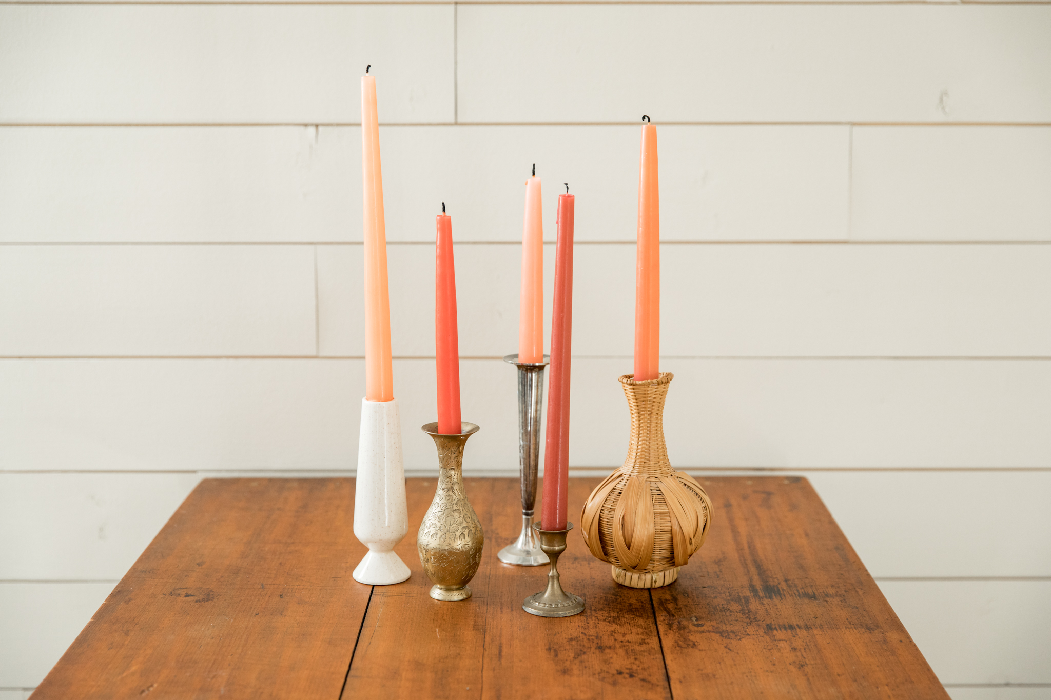 Eclectic Buds / Candlesticks