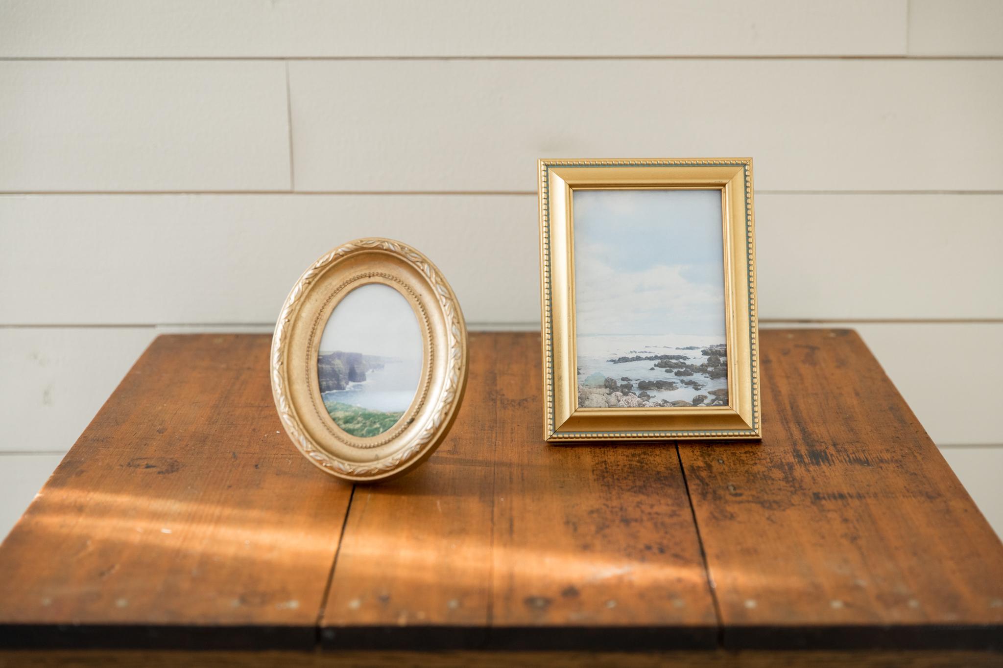 Mismatched picture frames