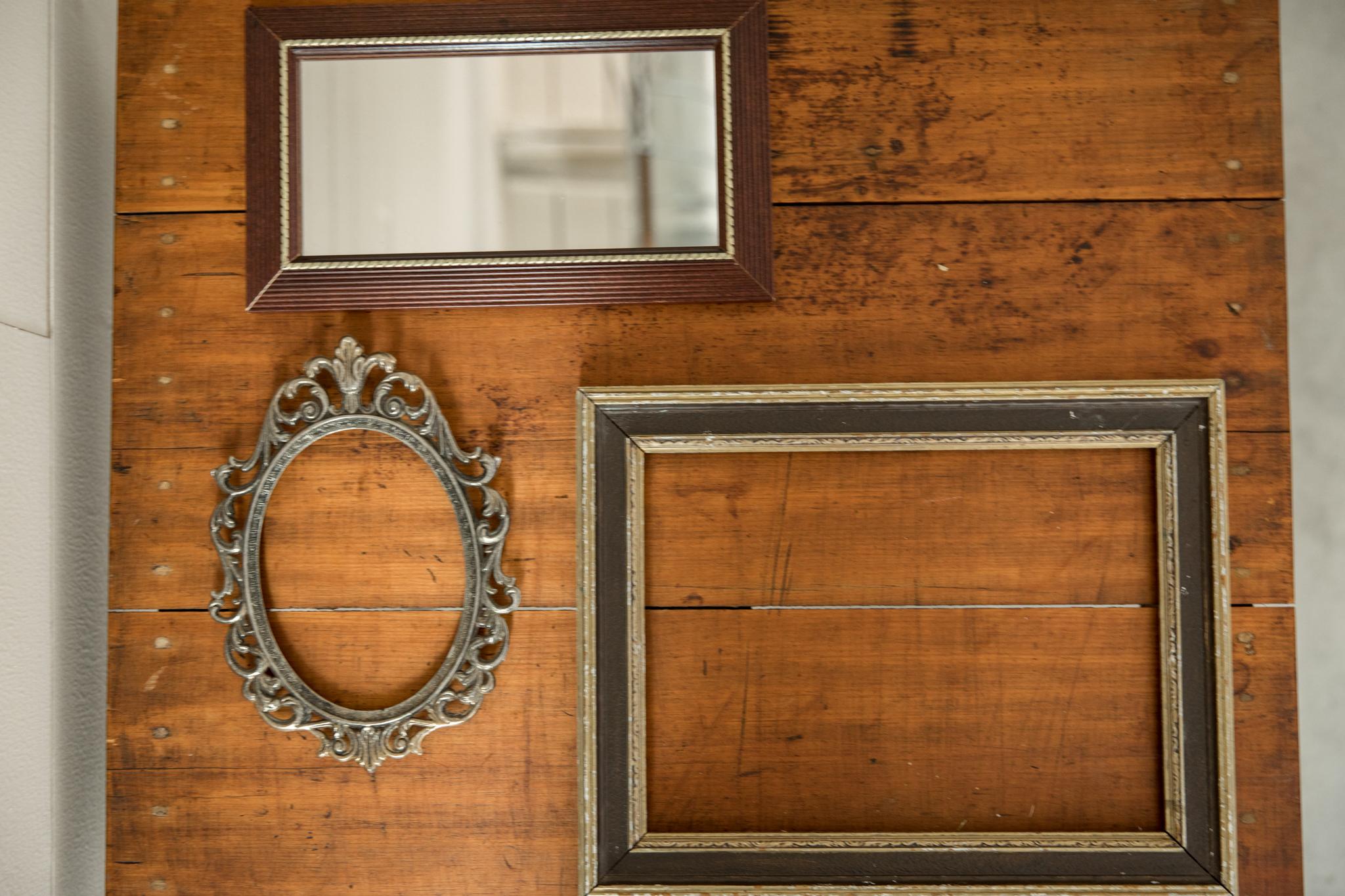 Frames + Mirrors