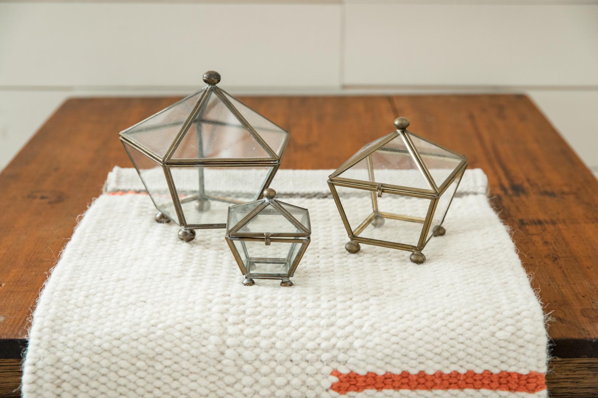 Glass Gem Boxes