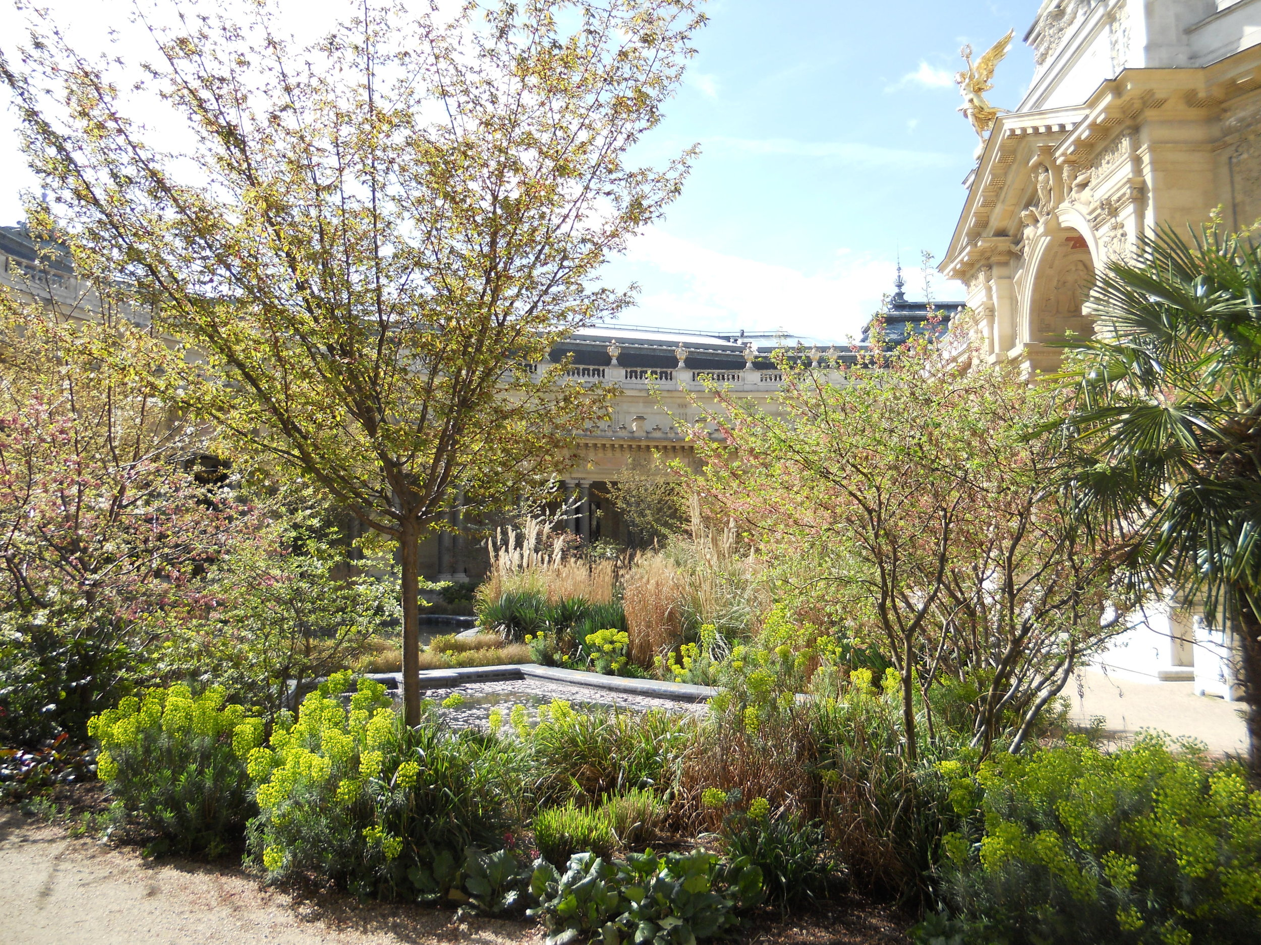 Courtyard garden at the Petit Palais