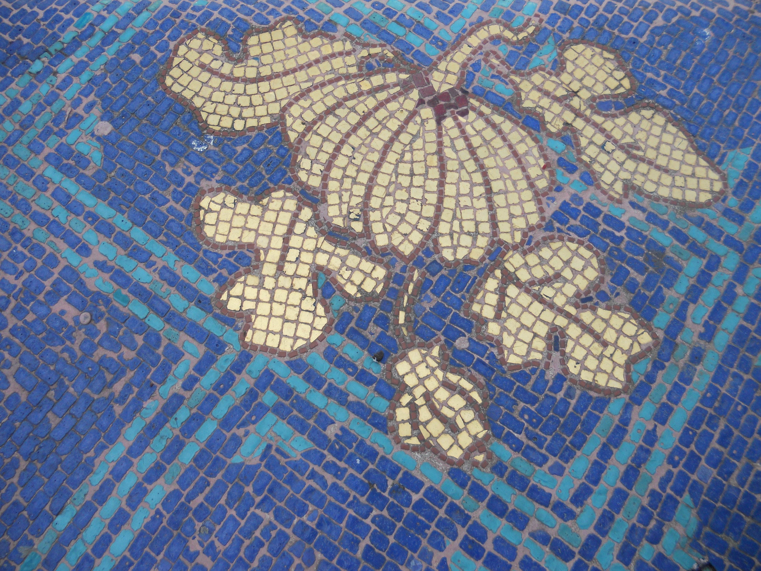 Mosaic tile detail