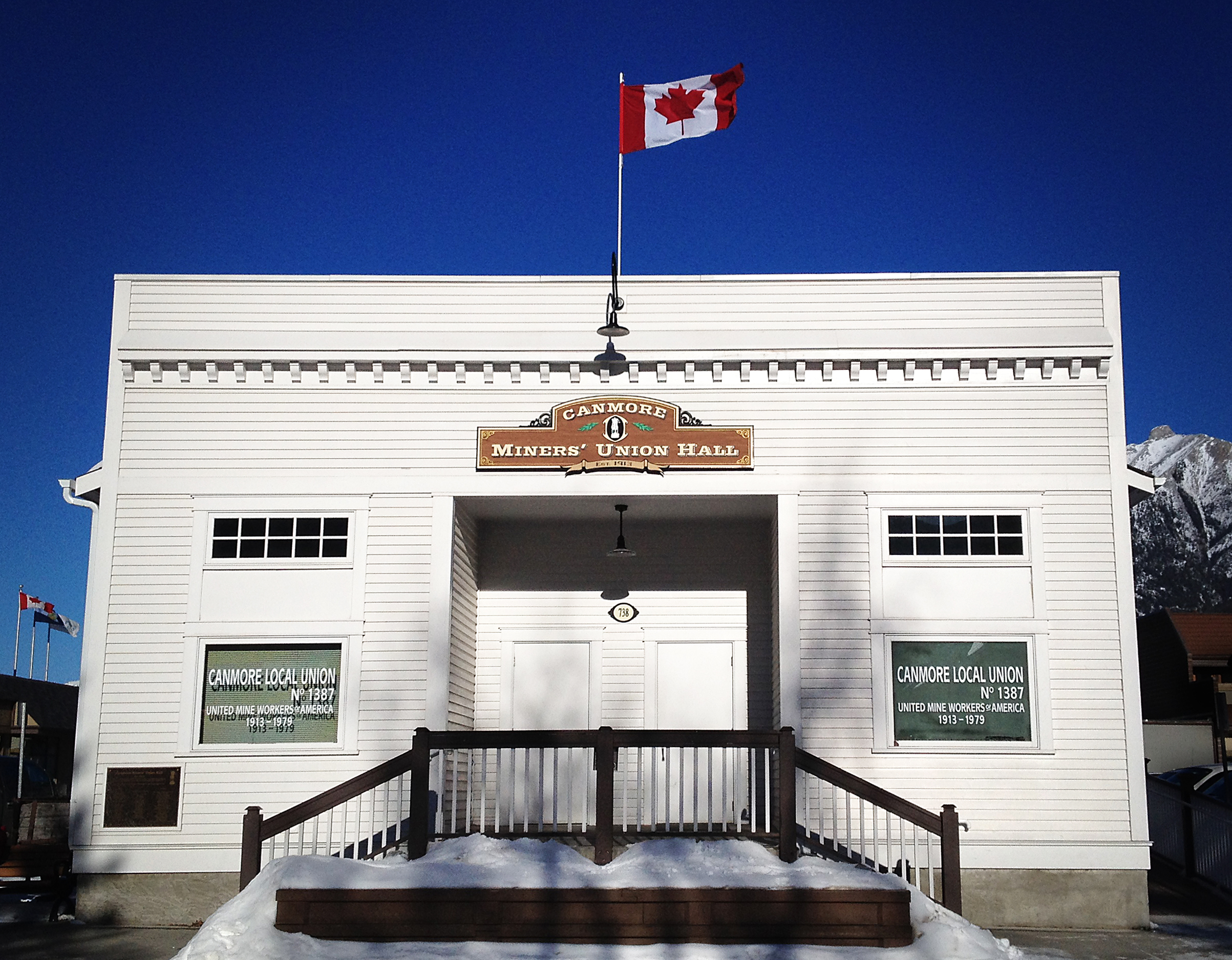 Canmore Miners' Union Hall