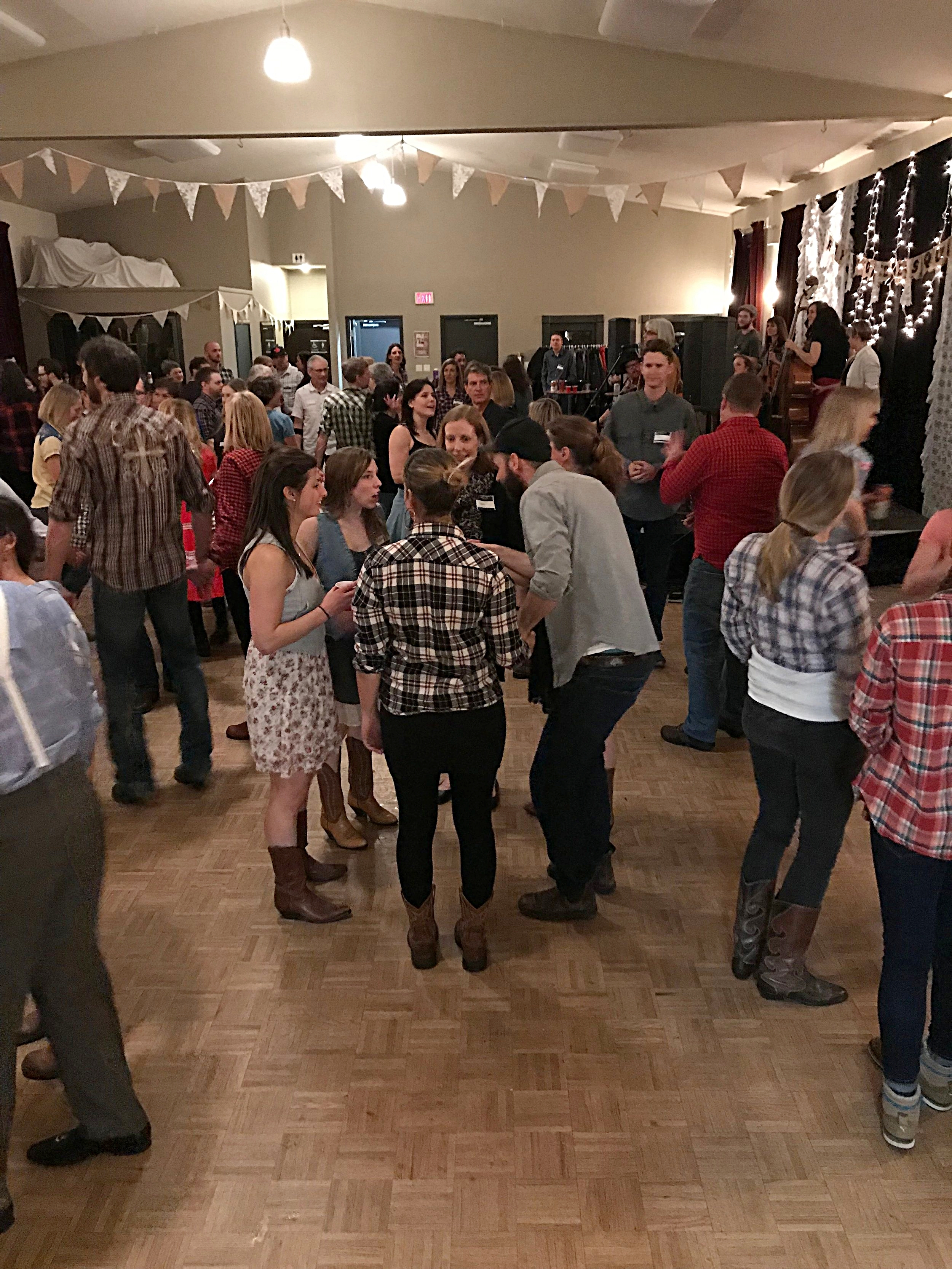 Hip To Be Square   square dance night