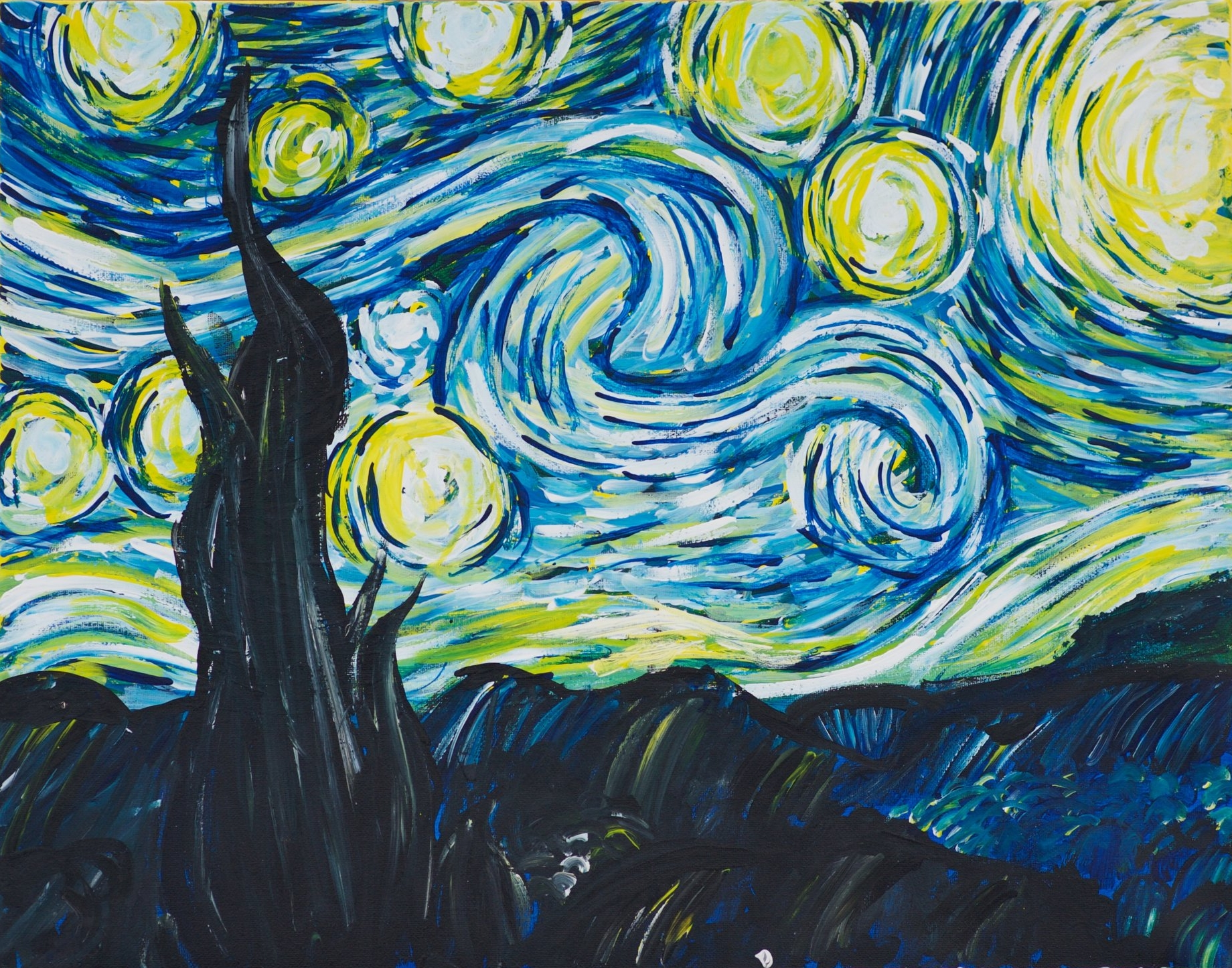 CONTEMPORARY STARRY NIGHT -