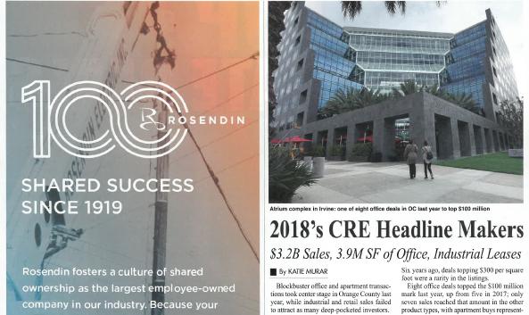 Kelemen Company makes 2018's CRE Headline