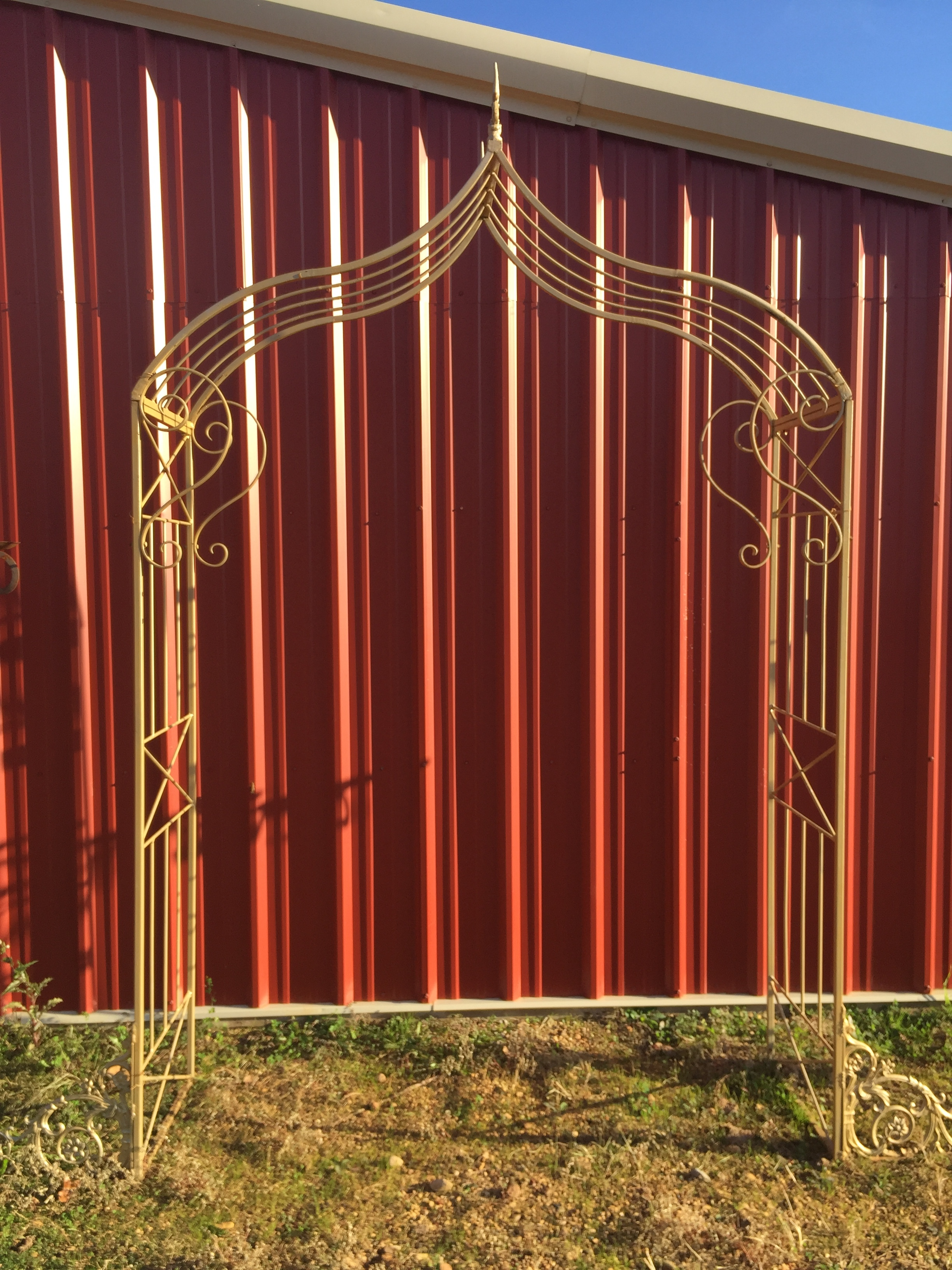 Gold Iron Arch - $95.00