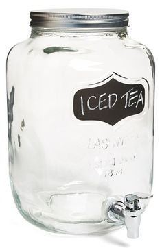 Mason Jar Drink Dispenser - $10.00 - 2 in stock