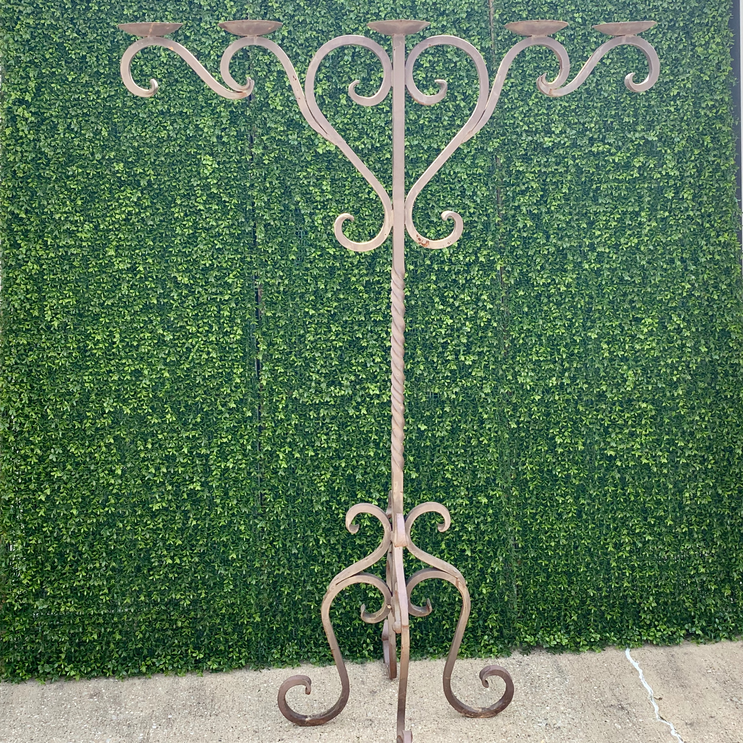 Iron Candelabra - $40.00 - 2 in stock