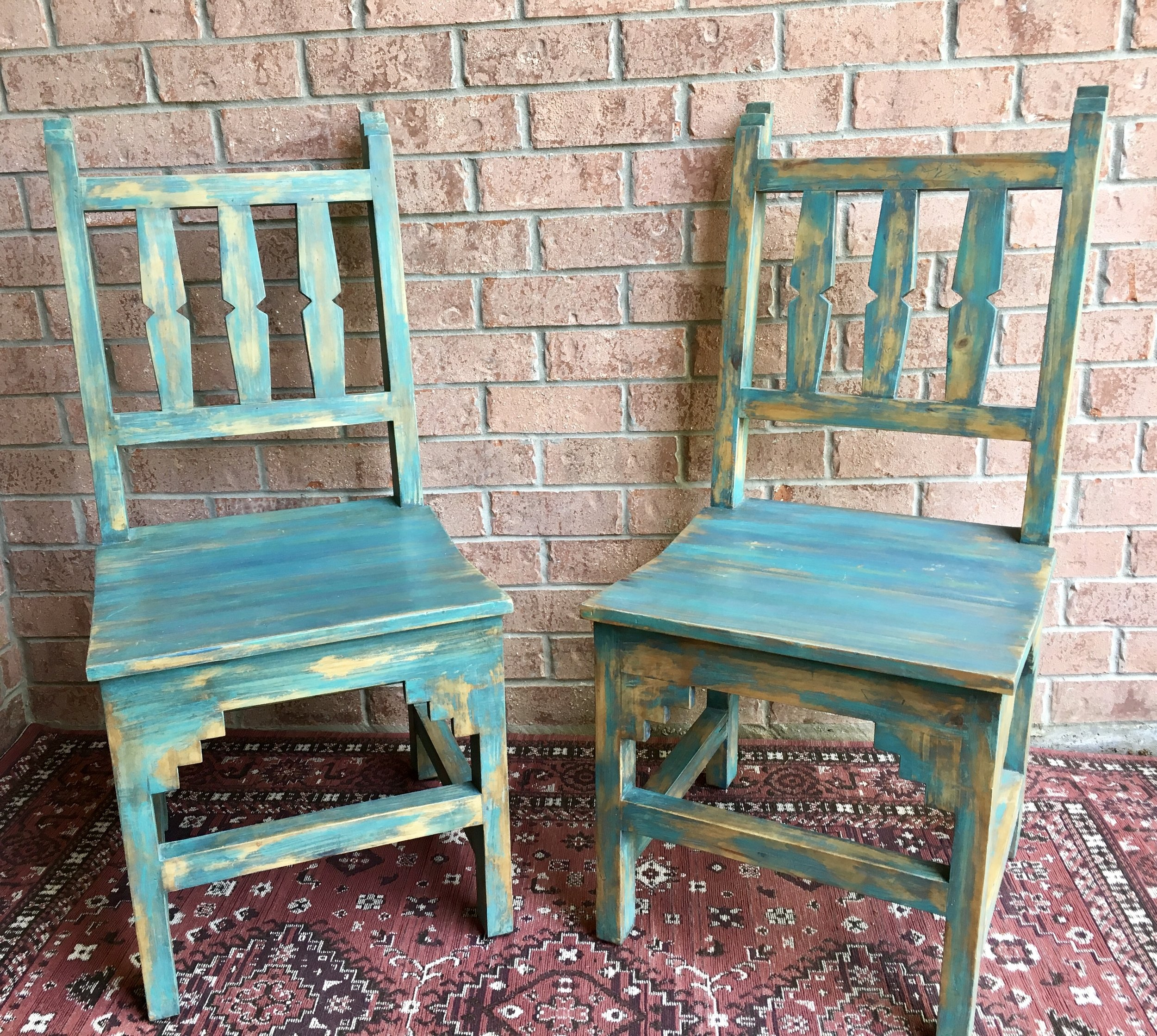Santa Fe Chairs - $15.00 - 2 in stock