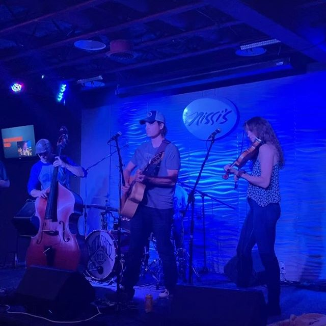 """That one time we played our original tune, """"Starlight"""" at @nissislafayetteco 🙌🏻 Swipe left for full song!"""