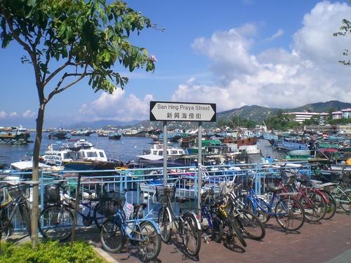 Biking Cheung Chau
