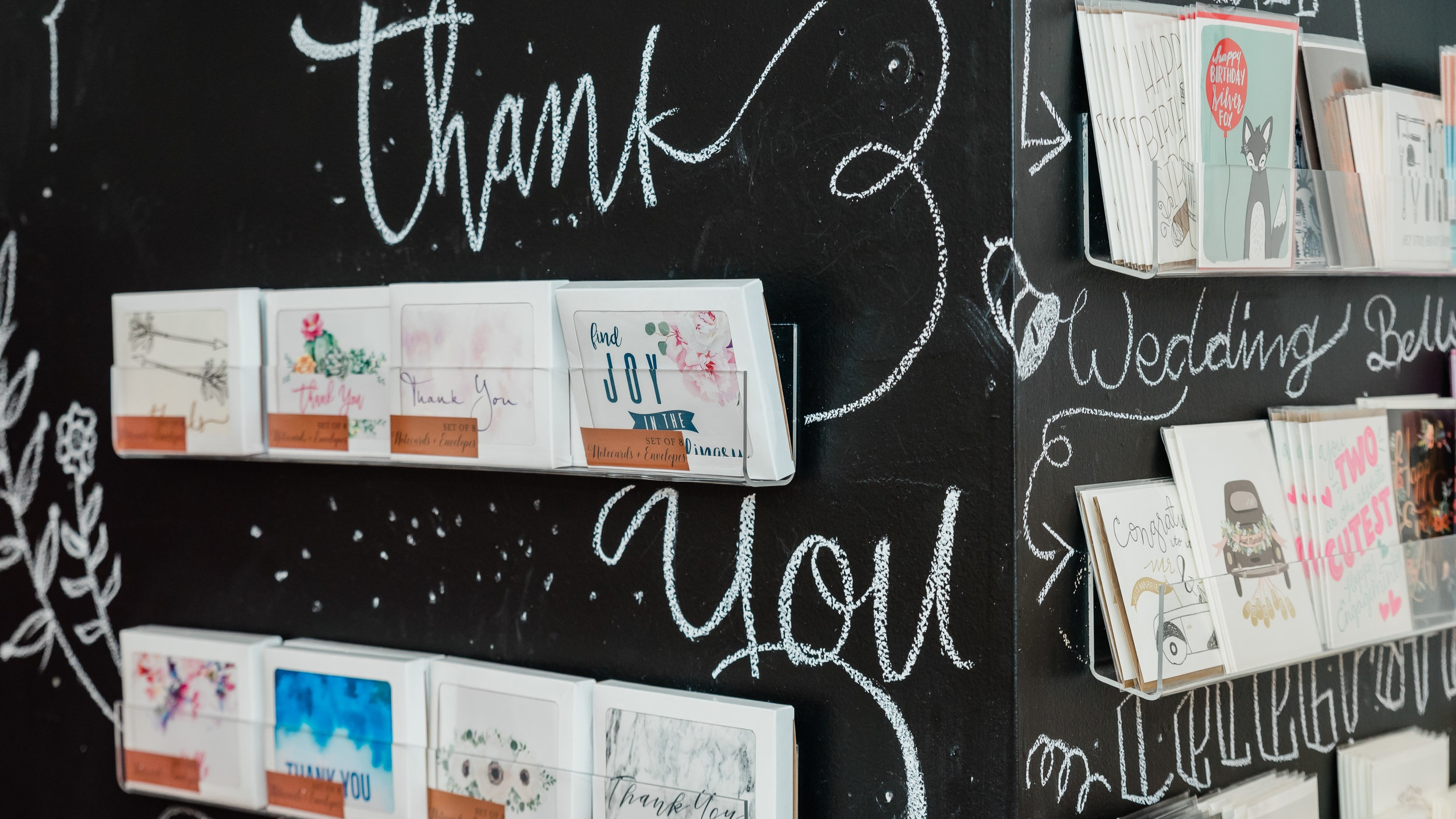 Thank You Cards - Packages of 8 cards + envelopes