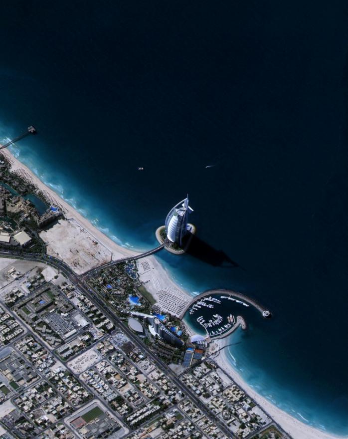 KOMPSAT-3, Dubai, UAE