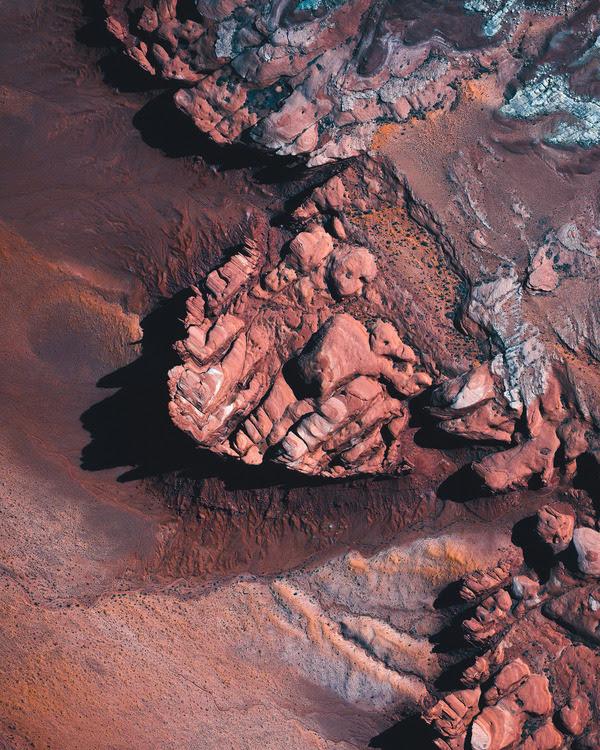 High resolution satellite image Arizona, USA