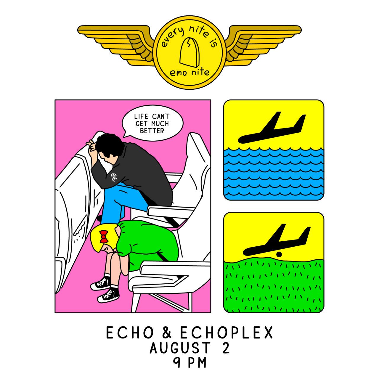 flyer design for emo nite
