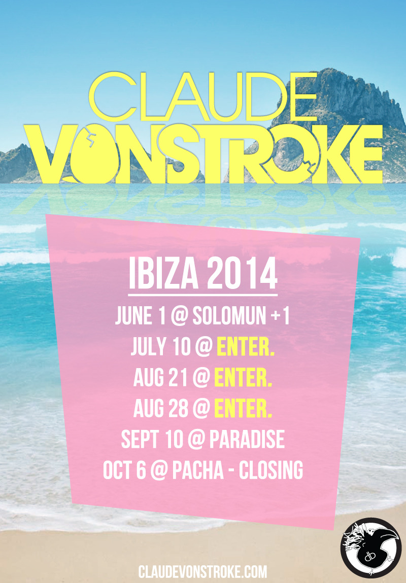 flyer design for claude vonstroke