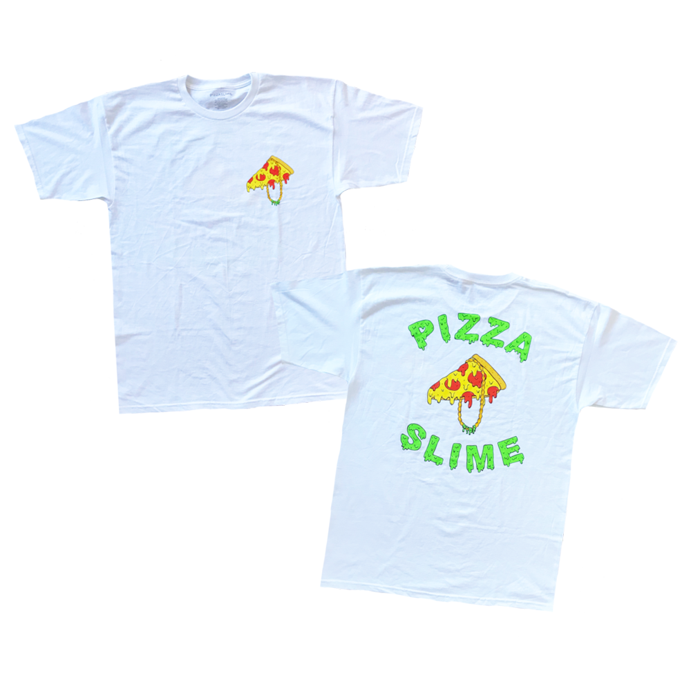 shirt design for pizzaslime