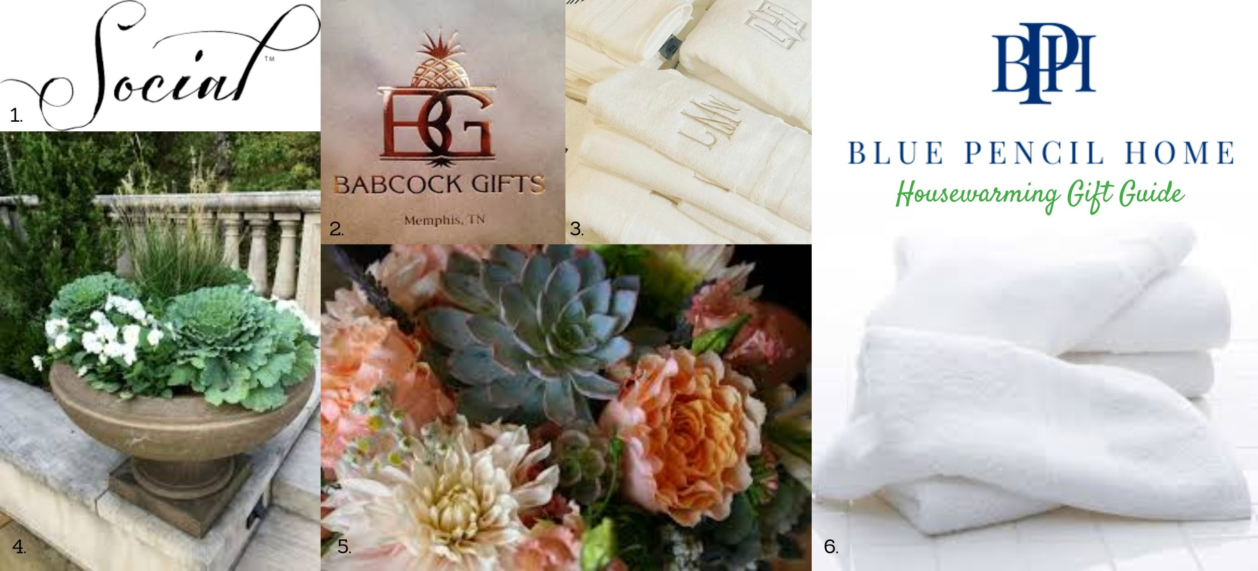 housewarming gift guide, spring, blue pencil home
