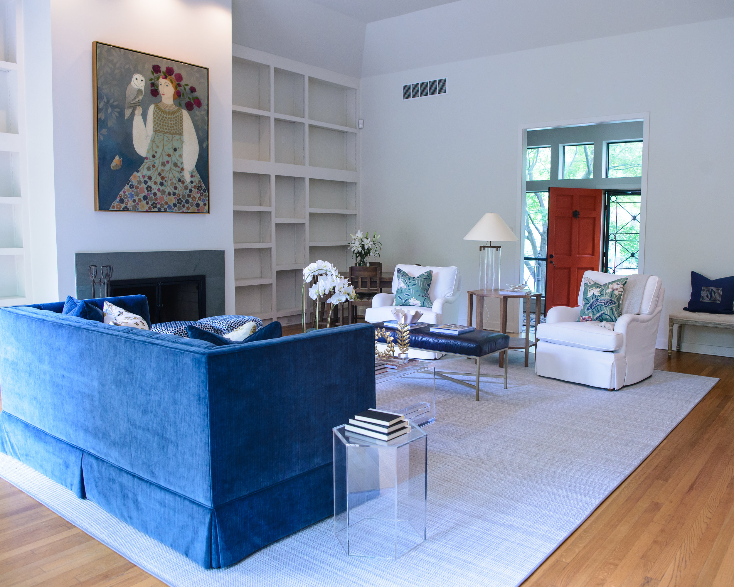 blue pencil home, memphis, home organization
