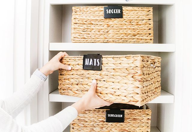 Every professional organizer has a list of go-to items that they swear by. One of ours is @thecontainerstore Hyacinth basket, which comes in all shapes and sizes, fits in most spaces, and looks great in just about any room. . . Fellow organizers, what's a go-to for you? And why? . . #organization #professionalorganizer #organized #getorganized #organizeyourlife #organizedlife #memphisorganization  #organizedaf  #containyourself  #memphis #memphisorganization #organizedhome #declutter #everythinginitsplace #simplify #simplifyyourlife #organizedhome #livesimply #howyouhome #homeorganizer #thecontainerstore #containerstore #organizingproducts #professionalorganizing #organizingideas #organizingtips