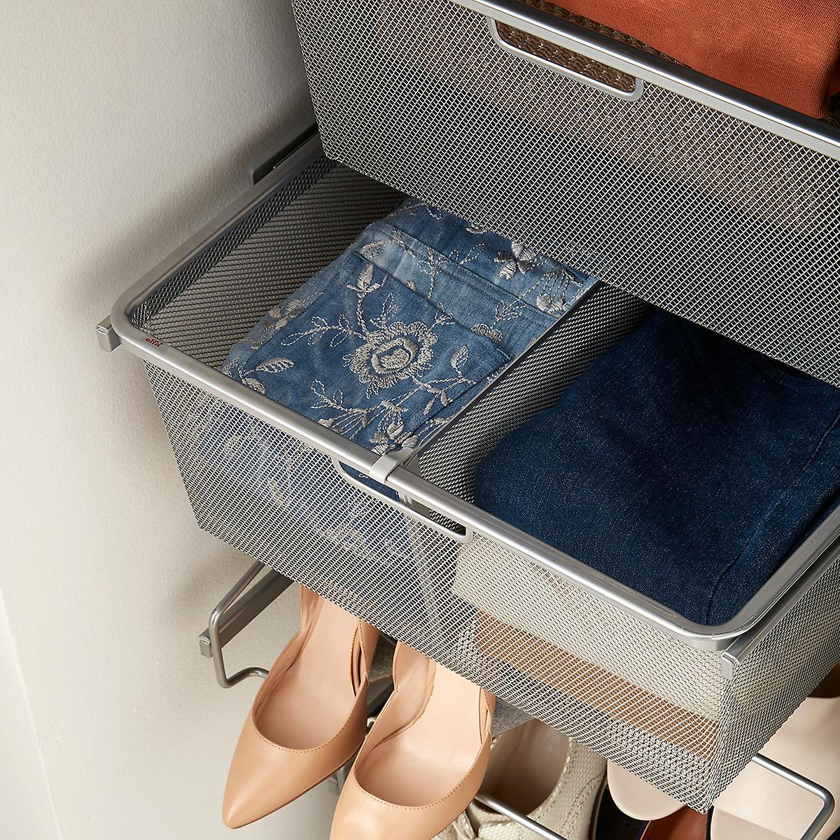 elfa wire Mesh dresser -
