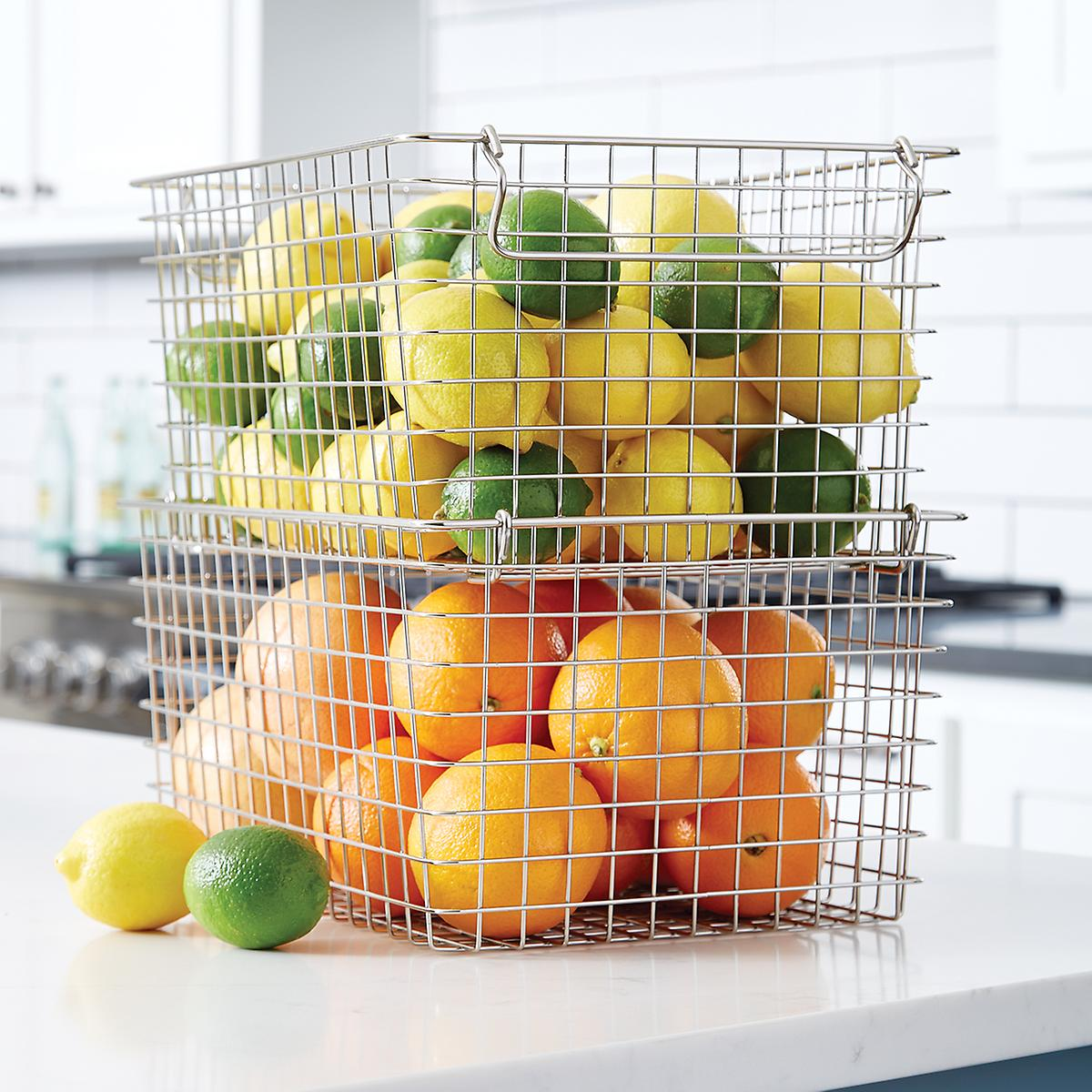 Stackable Wire Basket -