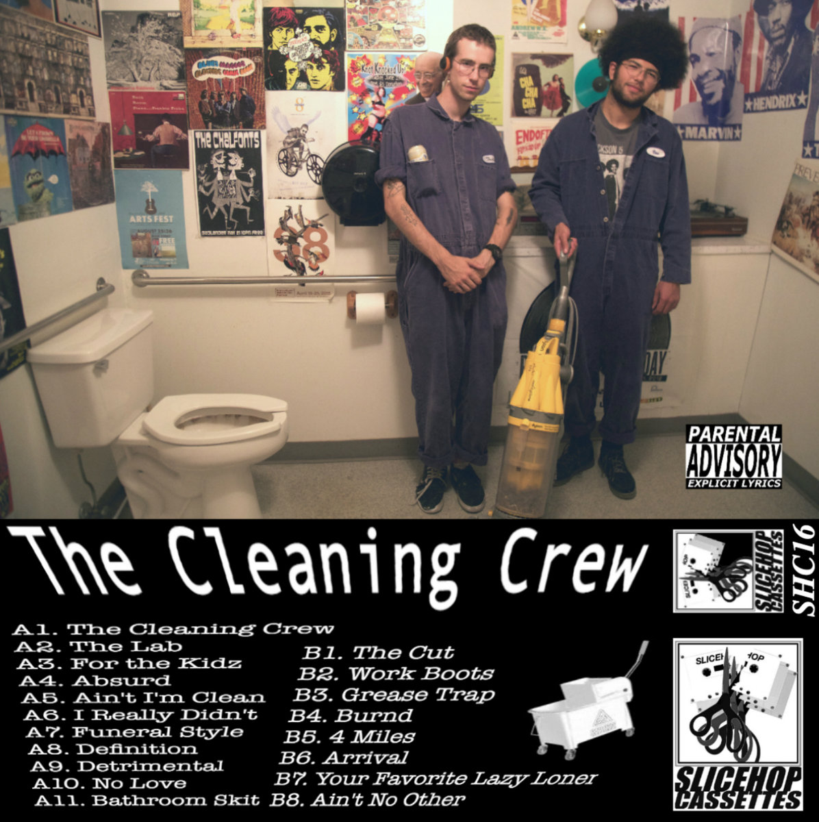 The Cleaning Crew,The Cleaning Crew - For a cleaning crew, these tracks sure are filthy. One of the hottest collaborations to hit Missoula, this project was grounds for a friendship between movers and shakers in Missoula hip hop. Think Truk and s_nya get into the nitty gritty with some of their most polished music yet.
