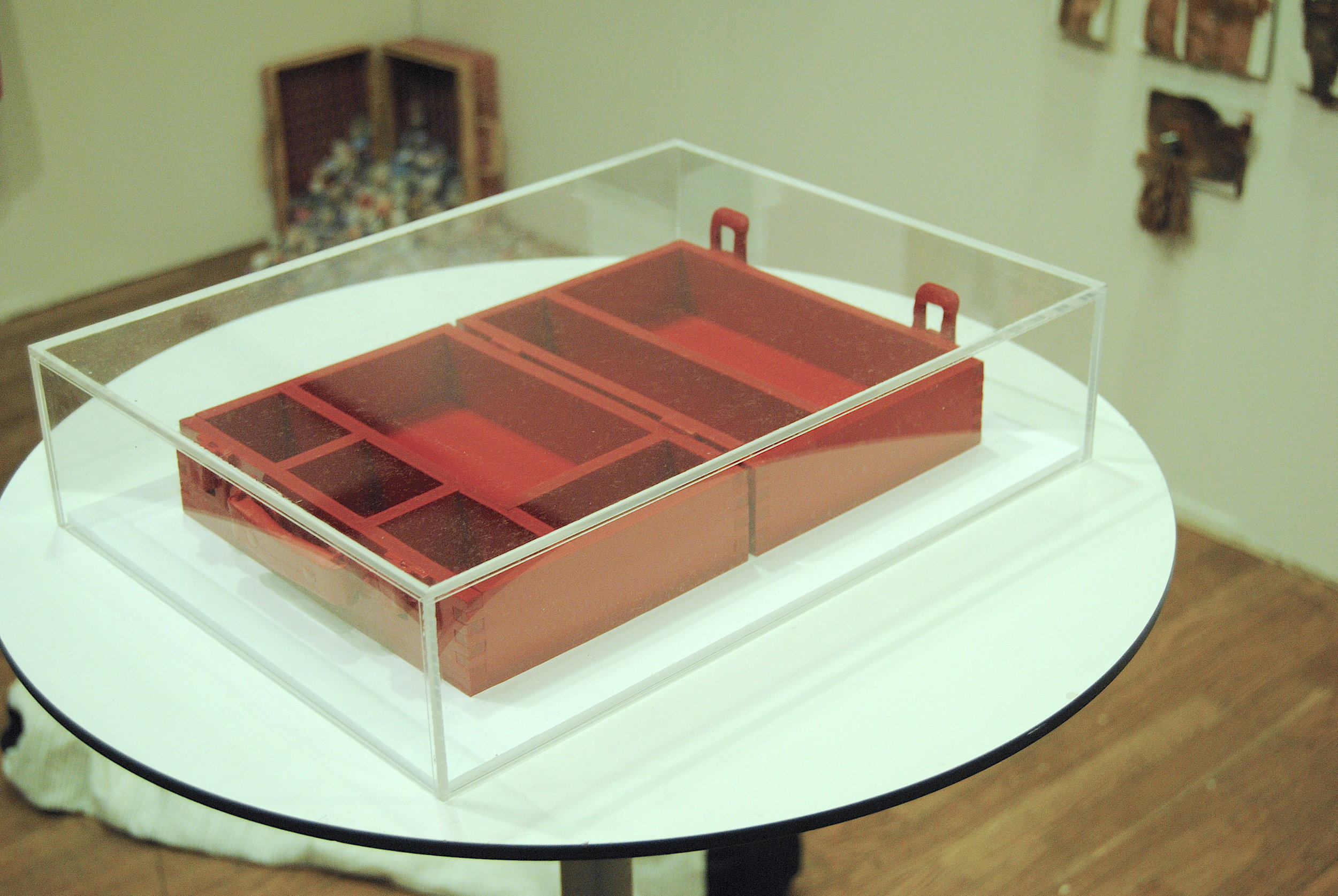 Stephen White: Paint Box (2012) Photo: Bruce Davies