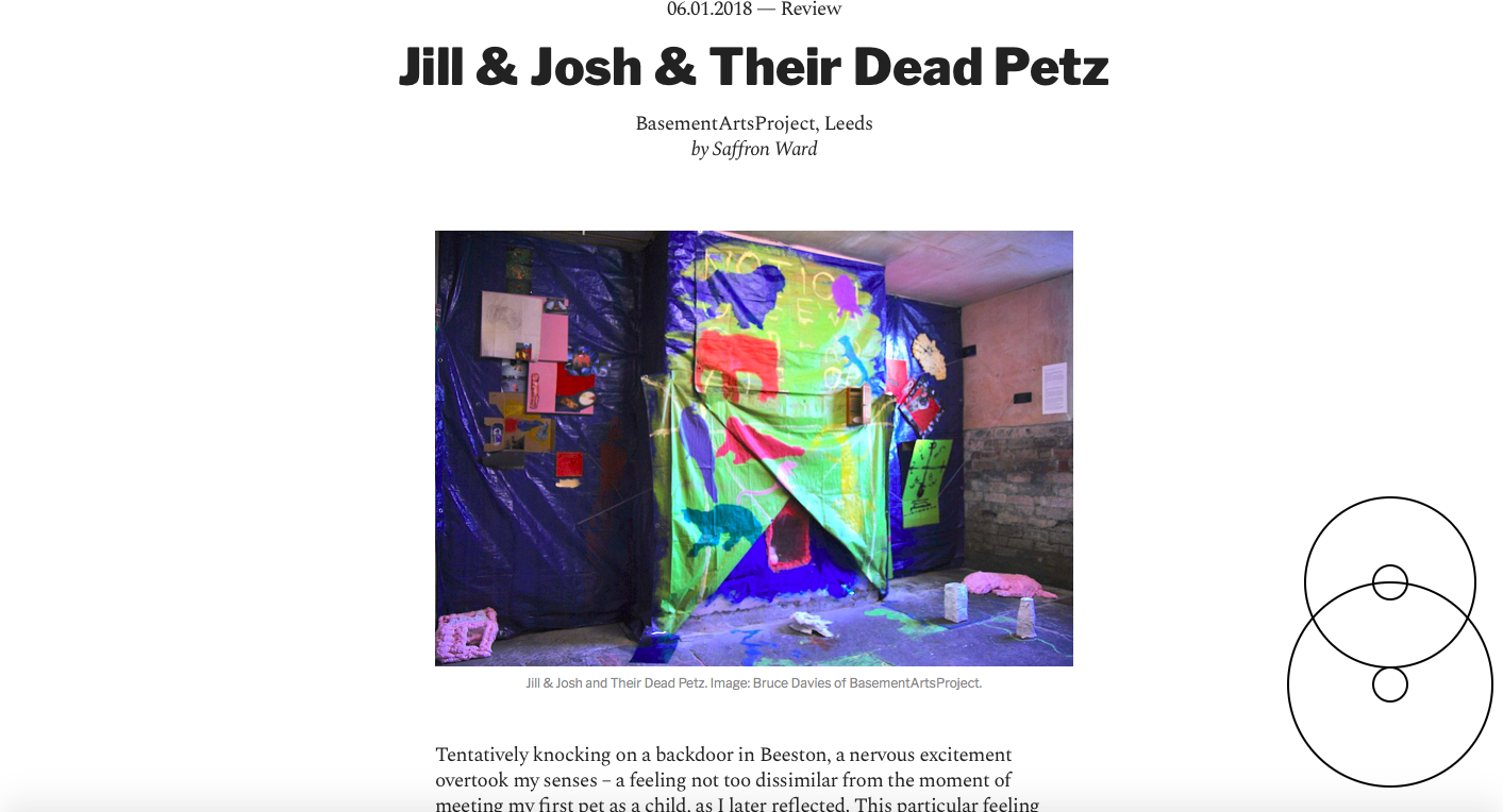 Corridor 8 - http://corridor8.co.uk/article/jill-josh-dead-petz/