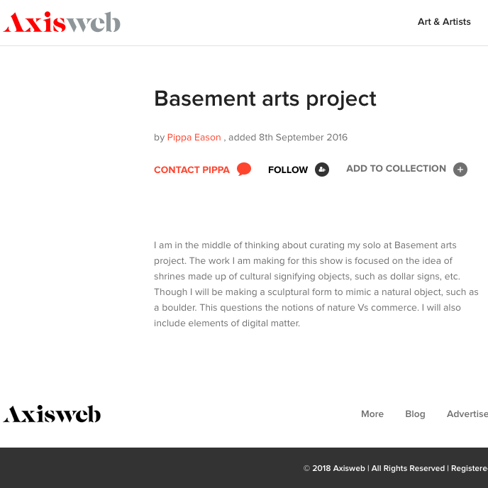 https://www.axisweb.org/p/pippaeason-1/article/2149-basement-arts-project/