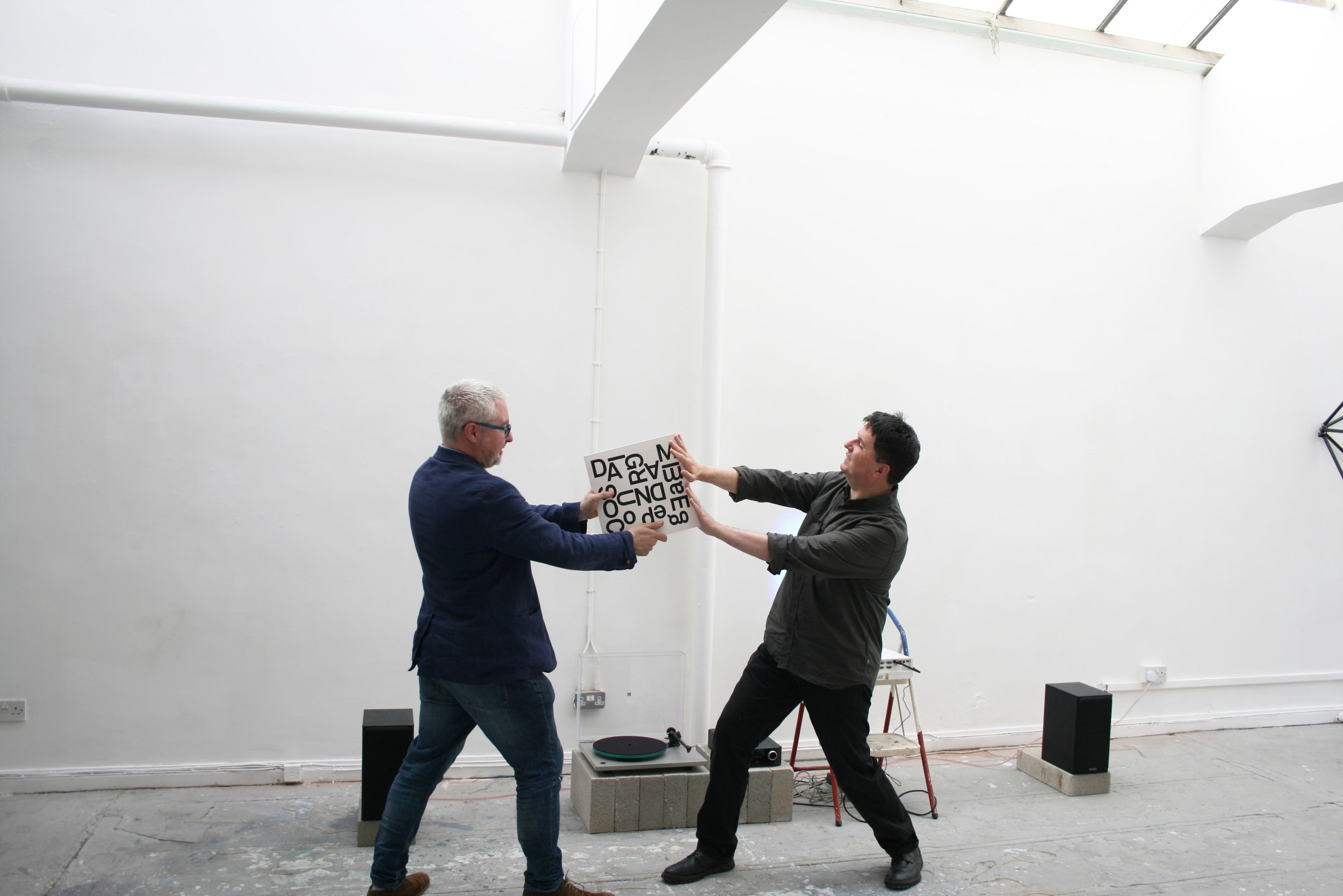 Alan Dunn & Shimmer Twin. Photo: Alistair Woods