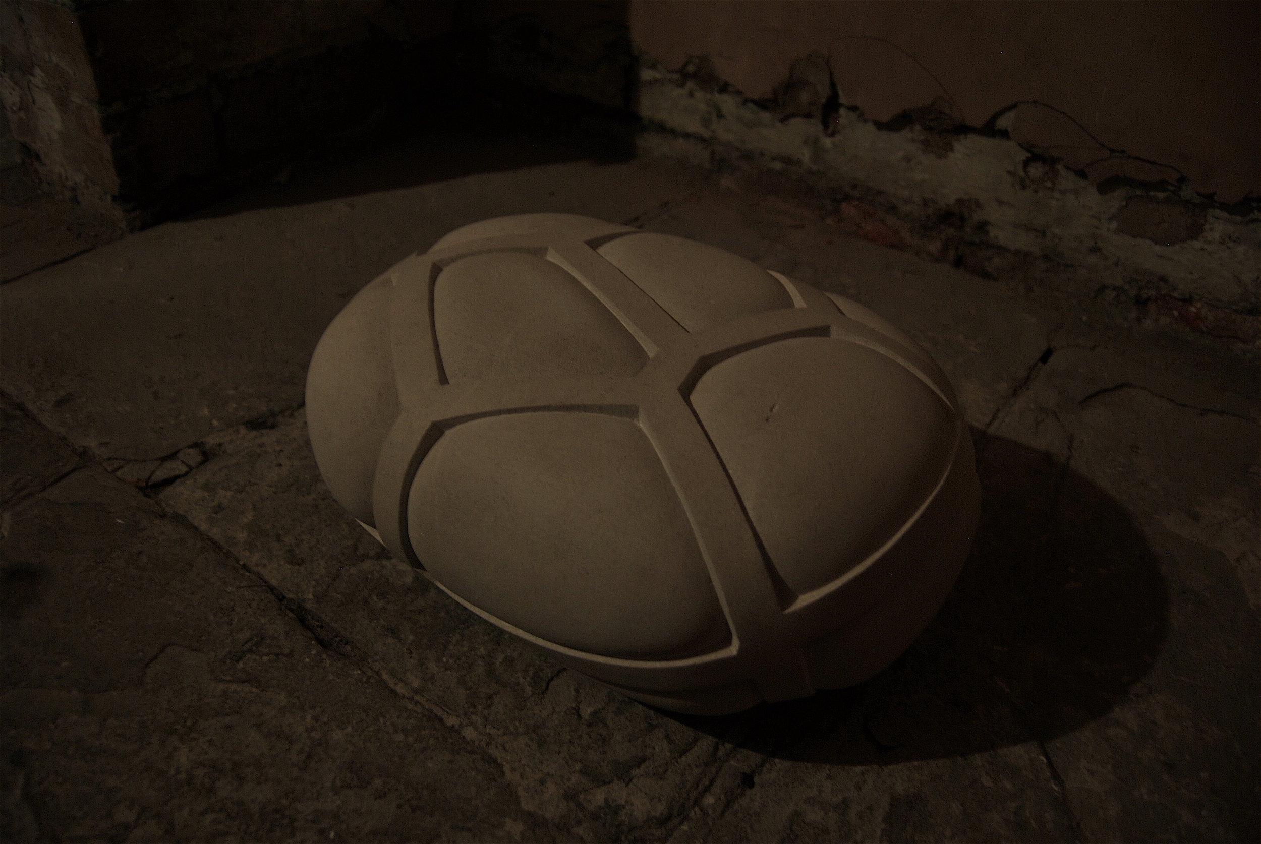 Voronoi Compression ( 2012)  Portland Limestone
