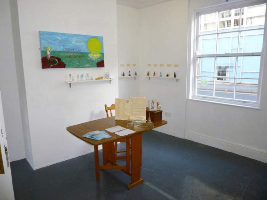My first Perfume as Practice solo show, staged at Bank Street Arts, Sheffield, in March 2016