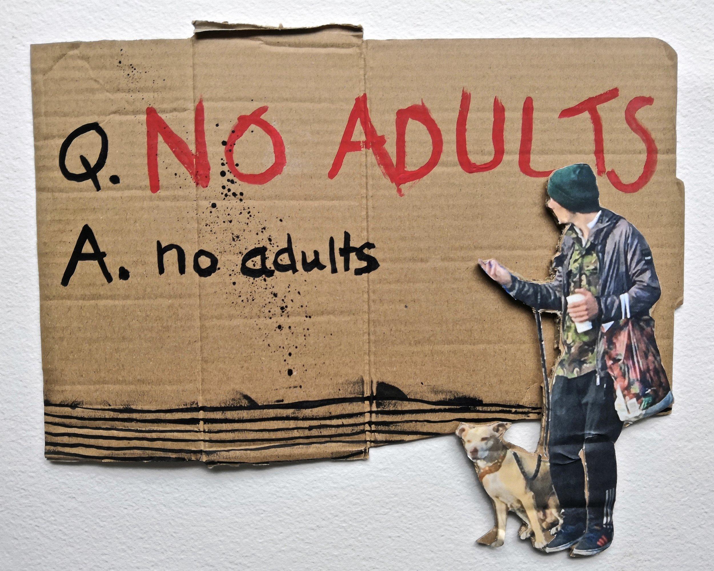 Q. No Adults | Phill Hopkins & Jadene Imbusch (2019)