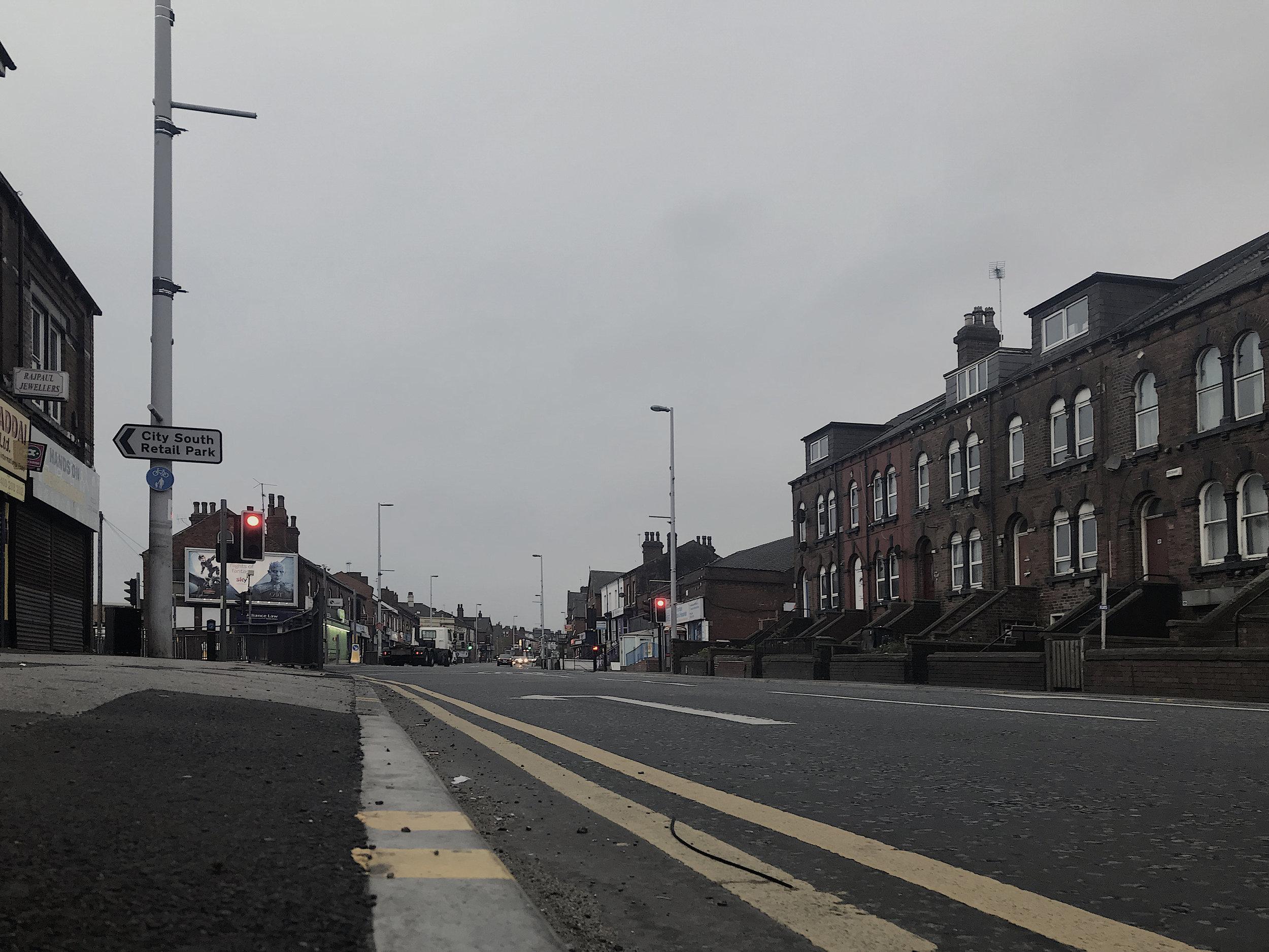 On The Corner of Dewsbury & Tunstall Road (2019) Photo: Bruce Davies