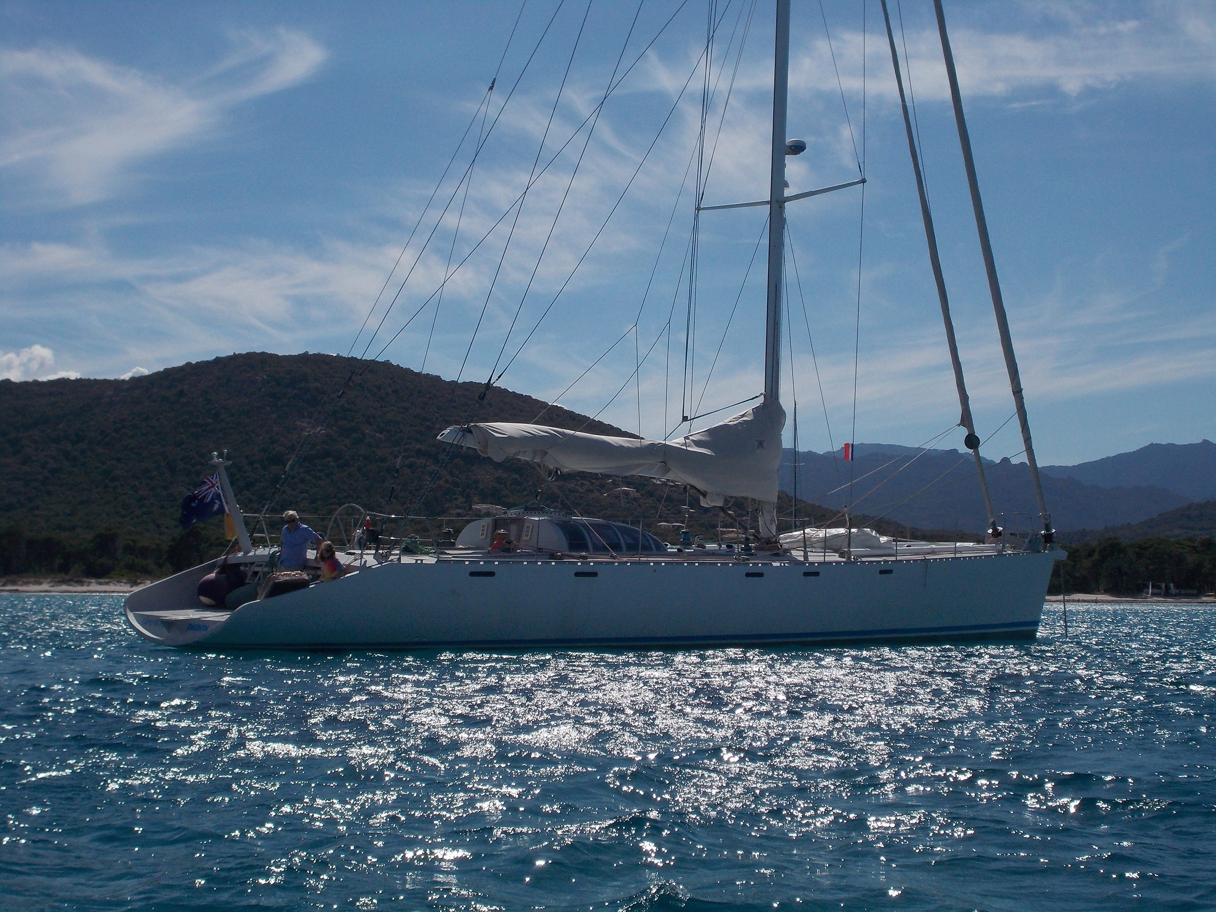 Capo di Fora / Finot-Conq 20m  2015: Yacht Purchase (Anasazi Ltda Brokerage)  Consulting  2016: Facnor furling system  NKE marine electronics  2017: Yacht Sale (Anasazi ltda Brokerage)
