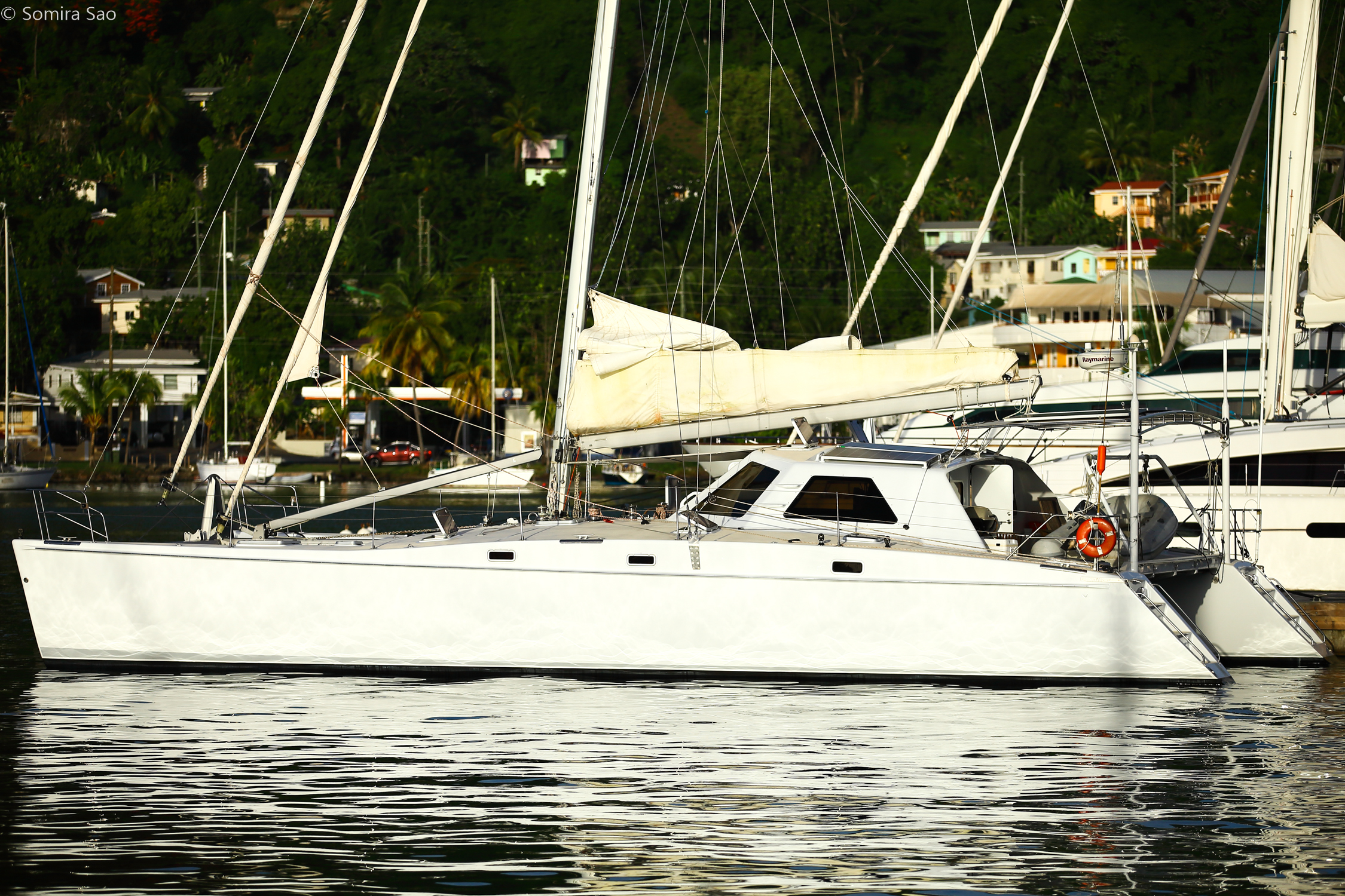 Segue 2003 55 Atlantic Cat  August 2018  re-commissions  Sea trials  Jan-June major refit of all systems, goals: lighter stronger simpler, less maintenance and more fun to sail
