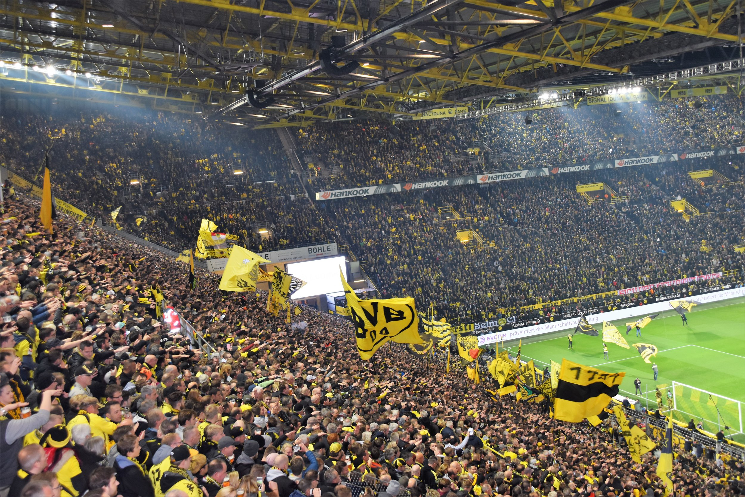 Borrusia Dortmund's atmosphere