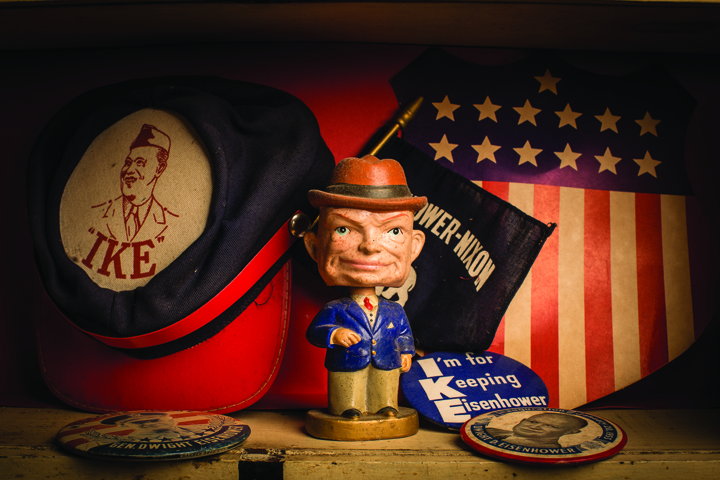 Eisenhower merchandise at Thomas Bros. Country Store