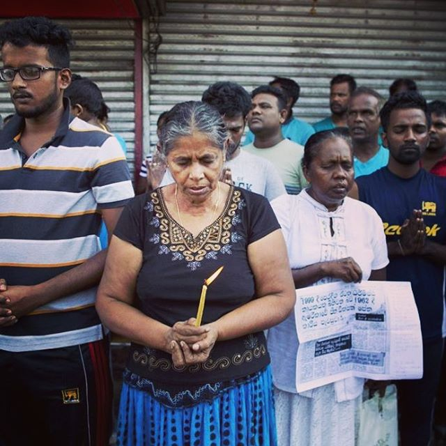 """Hope has two beautiful daughters; their names are Anger and Courage. Anger at the way things are, and Courage to see that they do not remain as they are."" - St. Augustine  Prayers for Sri Lanka 🙏🏼 Photo Credit: Gemunu Amarasinghe #prayersforsrilanka #hope #anger #courage #staugustine #prayersforpeace #srilanka #christianity"